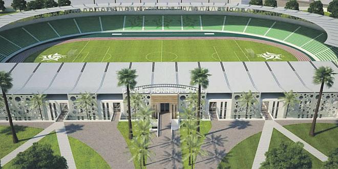Oujda : Le nouveau stade d'honneur livré