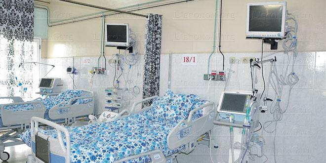 Covid-19: L'état d'occupation des lits d'hospitalisation à Casablanca-Settat