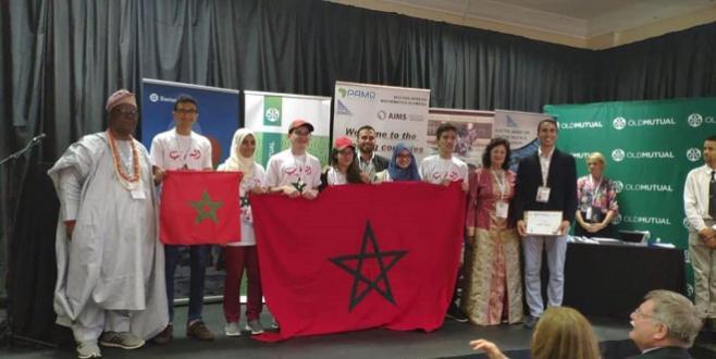 Les élèves marocains champions d'Afrique de mathématiques!