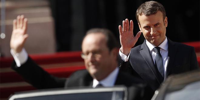 France : Le nouveau président entre à l'Élysée