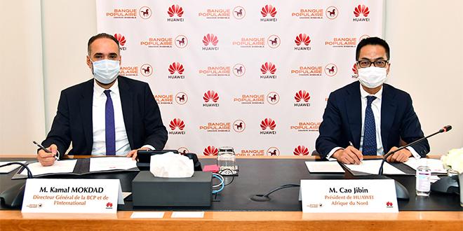 BCP et Huawei renforcent leur partenariat en Afrique