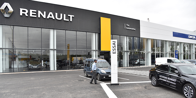Renault inaugure son plus grand showroom en Afrique à Fès