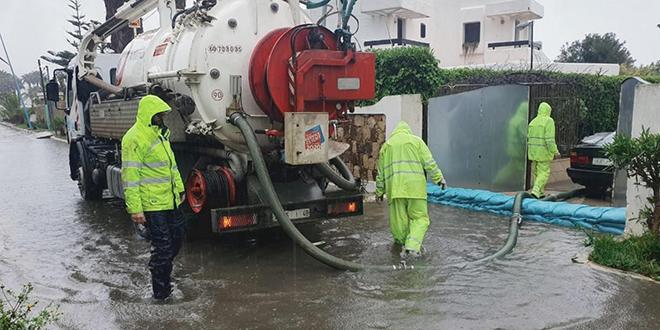 Nord: Des infrastructures durement malmenées par la pluie