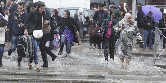De fortes pluies prévues samedi