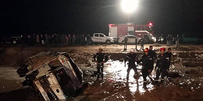 Des pluies torrentielles tuent en Jordanie