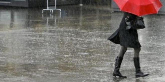 Météo: De fortes pluies jusqu'à jeudi