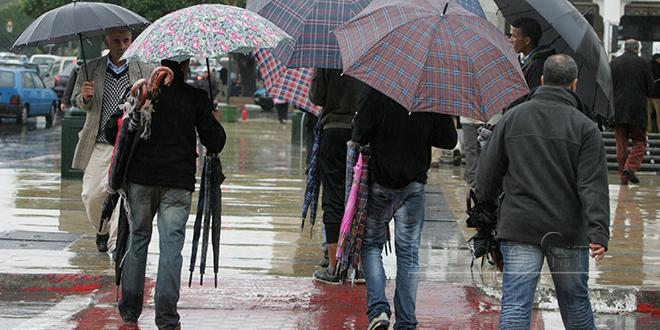 Alerte météo : Pluies et rafales dans plusieurs régions
