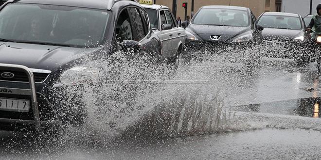 Chutes de neige et fortes pluies du lundi au mercredi