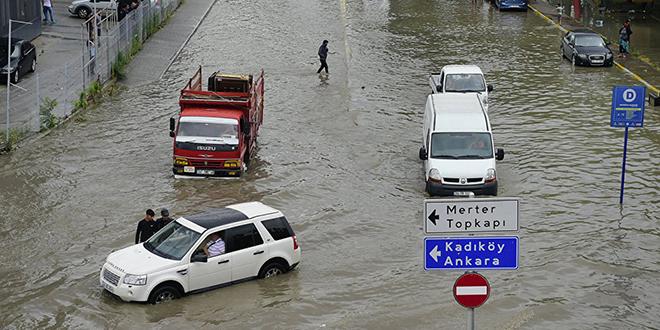 Innondations à Istanbul
