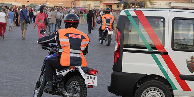 La police renforce la traque à Marrakech