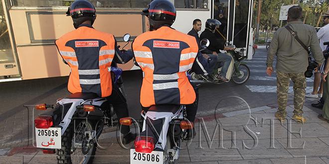 Marrakech : La police nettoie la ville de ses délinquants