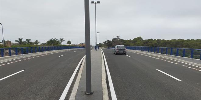 """Autoroute Rabat-Casa: Le pont """"Avenue Grenade"""" ouvert"""