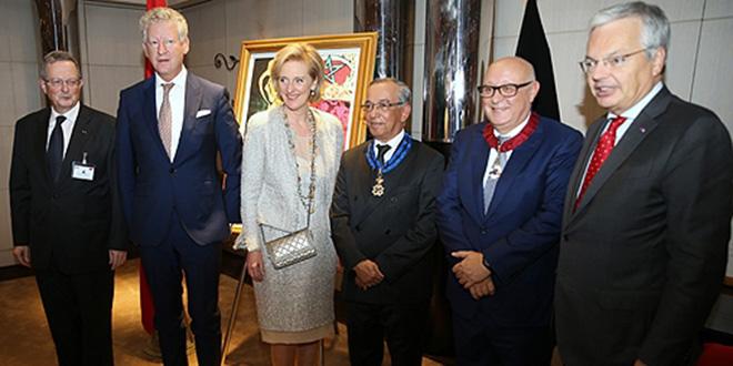 La Belgique honore deux personnalités marocaines