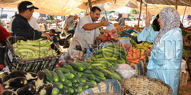 Hausse de l'indice des prix à la consommation