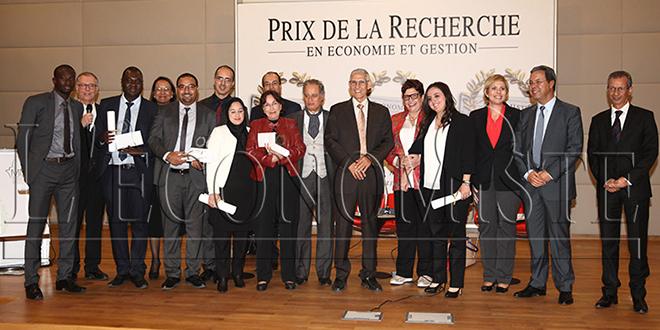 Les gagnants du Prix de L'Economiste de la Recherche en Economie et Gestion