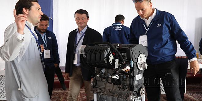PSA : Voici le premier moteur made in Maroc