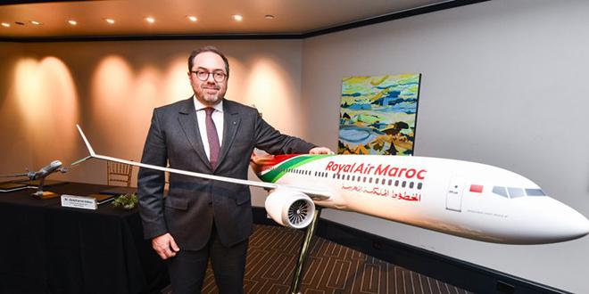 Royal Air Maroc réceptionne le Boeing 787-9 Dreamliner