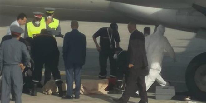RAM: Un mort découvert dans le train d'atterrissage de l'avion