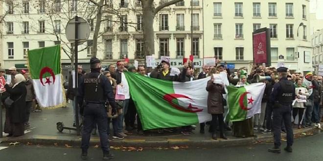 Présidentielle algérienne: Vote en France sous tension
