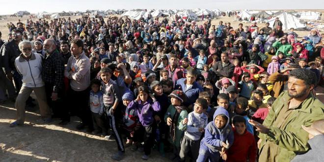 Réfugiés syriens : Le Roi intervient