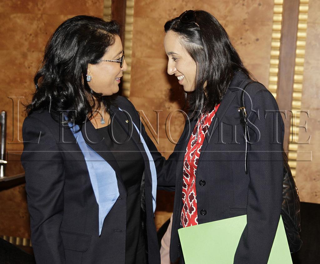 Nawal El Moutawakel et Mbarka Bouaida