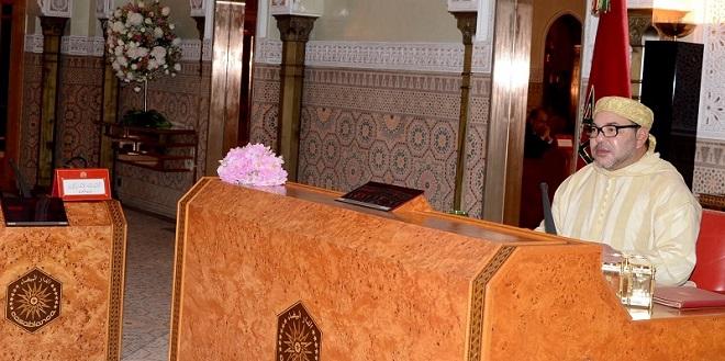 Le Roi préside un Conseil des ministres à Marrakech