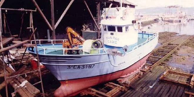 Un bateau naufragé au large Maroc, objet d'une enquête pour trafic de drogue