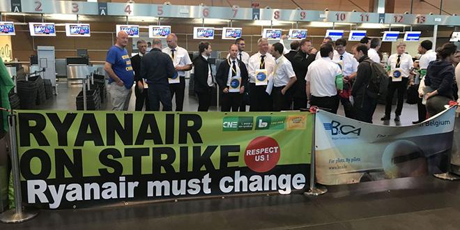 Grève Ryanair : Les pilotes de cinq pays européens répondent à l'appel