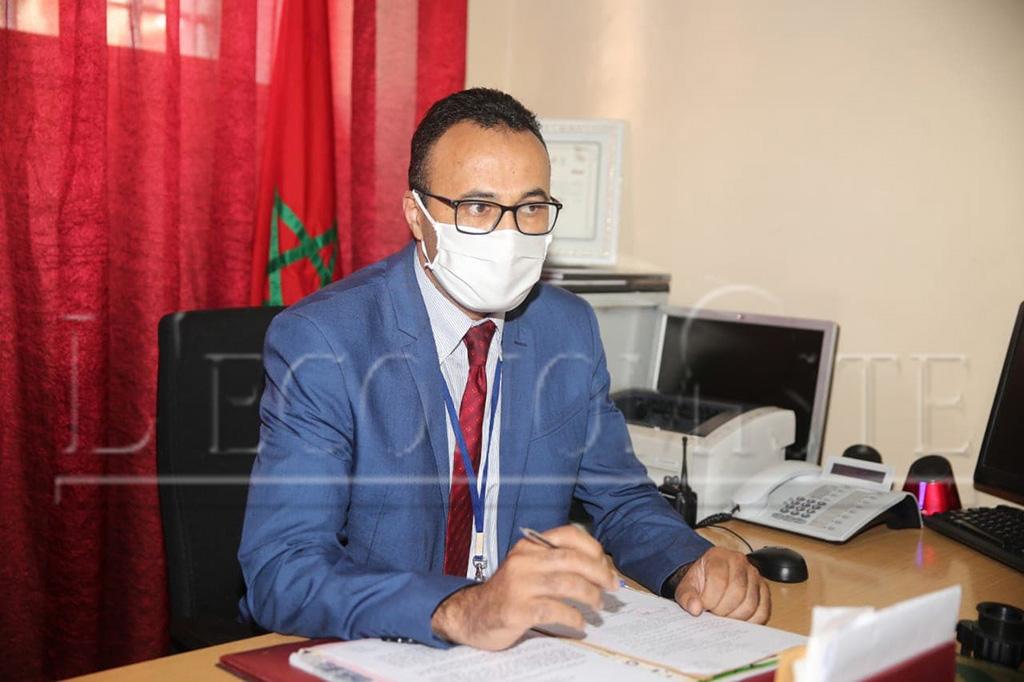 A Ben Msick, l'opération se déroule sous la supervision de Said Kammouch, Chef du service de la documentation et des titres identitaires