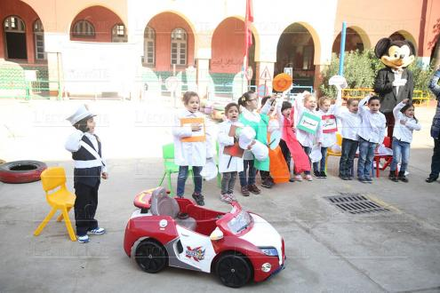 """Safe Roads Safe Kids"" à Marrakech"