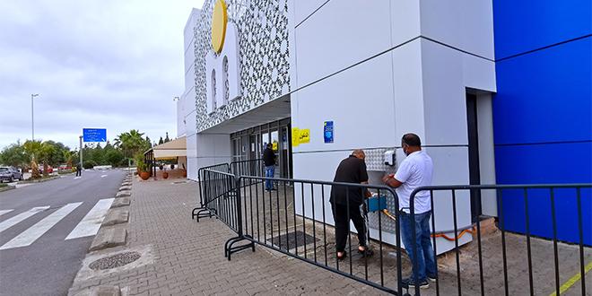 Covid19/ Fès : Sécurité sanitaire renforcée à Marjane et Carrefour
