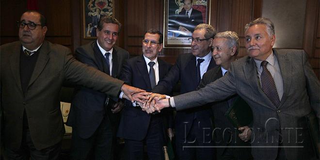 LOF 2019 : Réunion de la majorité à Rabat