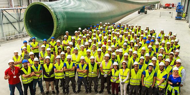 Eoliennes : Siemens Gamesa inaugure son usine à Tanger