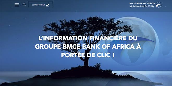 BMCE BOA lance un site web de la communication financière