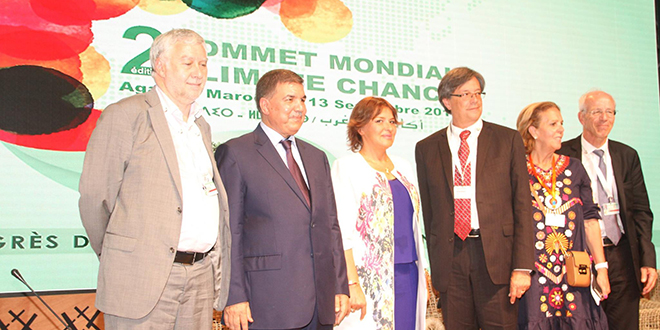 Sommet mondial Climate Chance : La Déclaration d'Agadir adoptée