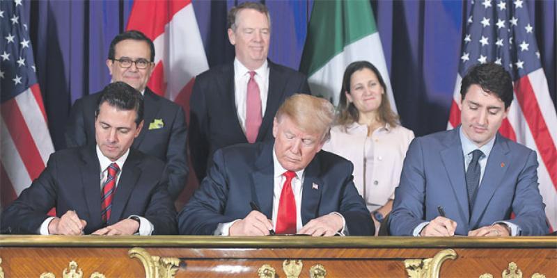 Ce que contient le nouvel accord commercial nord-américain