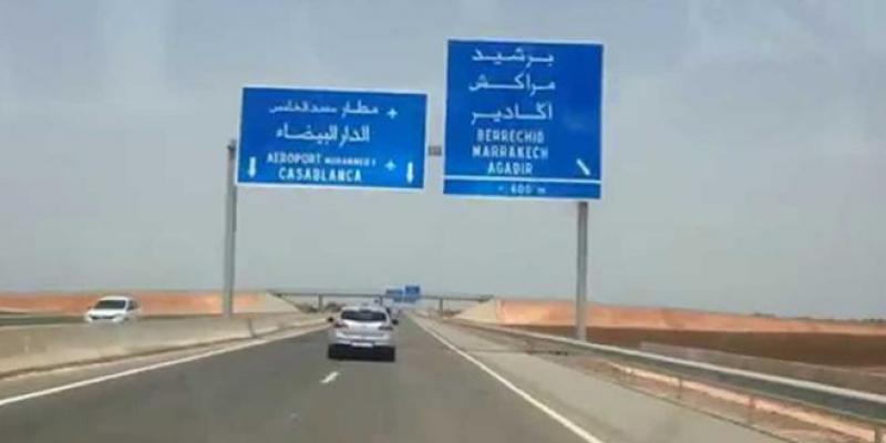 Casablanca-Berrechid : L'élargissement à 3 voies démarrera en 2018