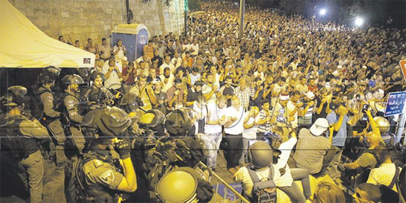 Jérusalem: La tension s'étend vers la Jordanie
