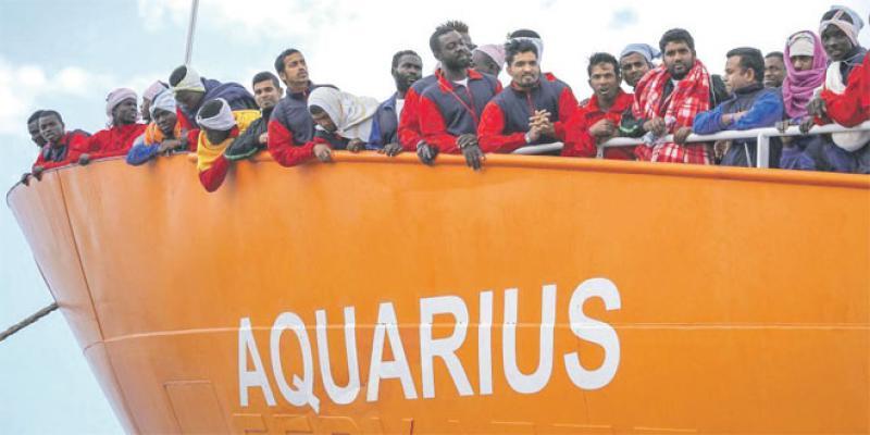 Migration: Nouvelle errance pour l'Aquarius en Méditerranée