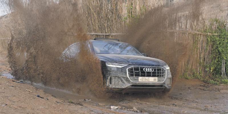 L'Audi Driving Experience autour du Q8