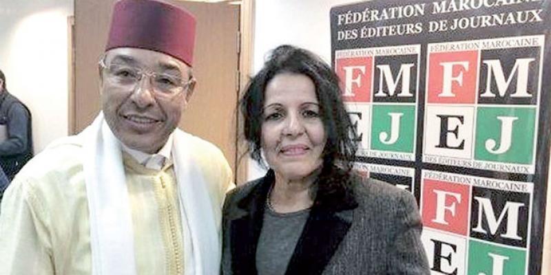 Bahia Amrani, la nouvelle patronne des éditeurs de journaux