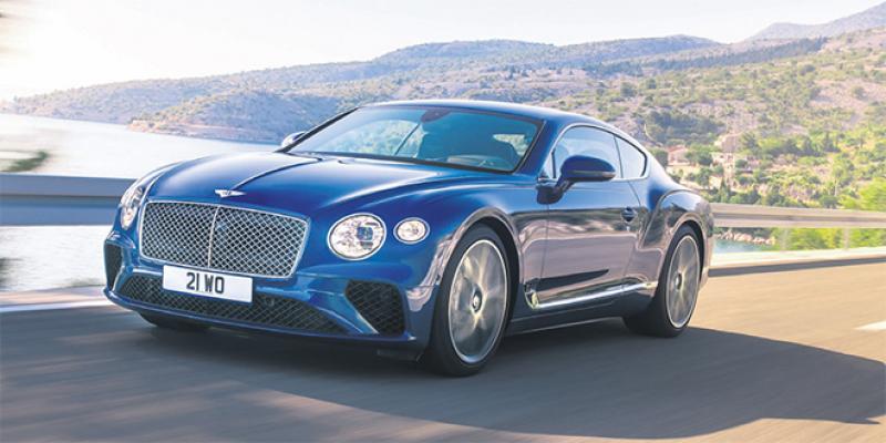 Essai Automobile-Bentley: 17 commandes déjà pour la Continental GT!