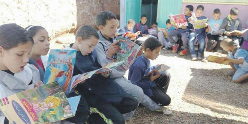 Une bibliothèque «nomade» à Marrakech