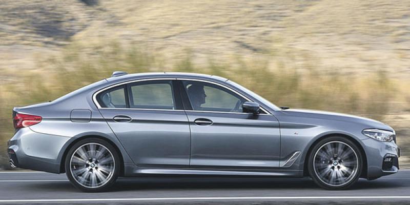 BMW frôle l'autonomie totale avec sa série 5