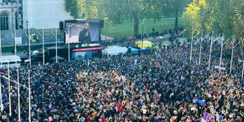 Brexit : Grande manifestation pour un nouveau référendum
