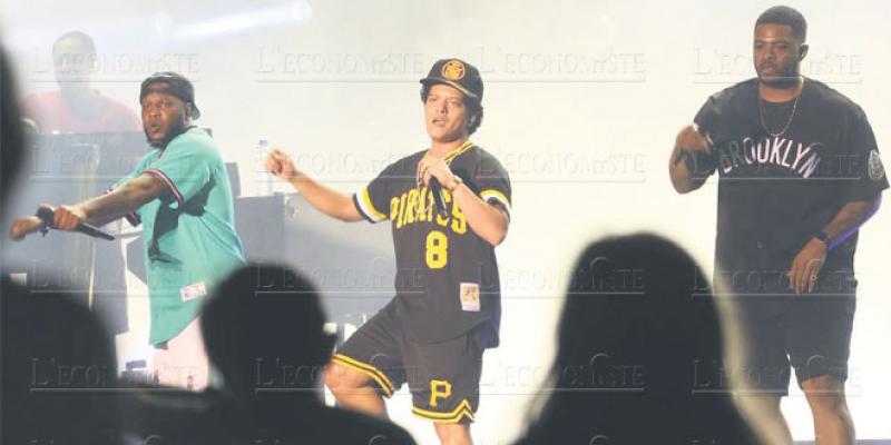 Bruno Mars: Le nouveau roi de la pop à Rabat
