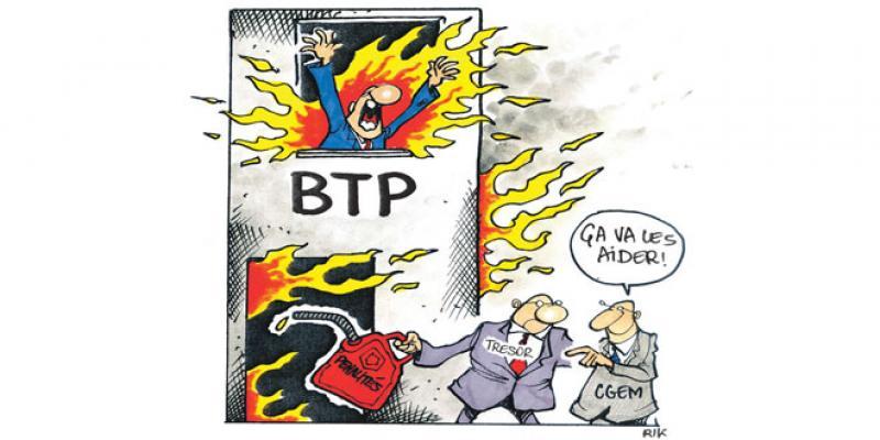 BTP: Les reports de crédits plombent les délais de paiement