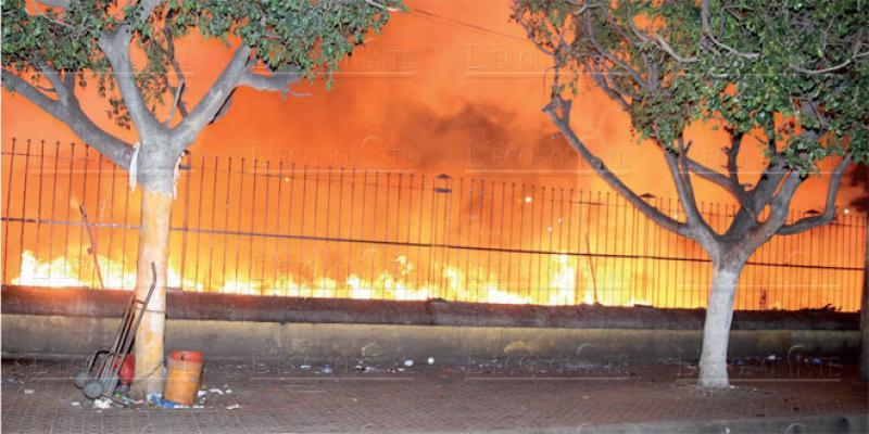 Migrants subsahariens: Le camp d'Ouled Ziane ravagé par les flammes