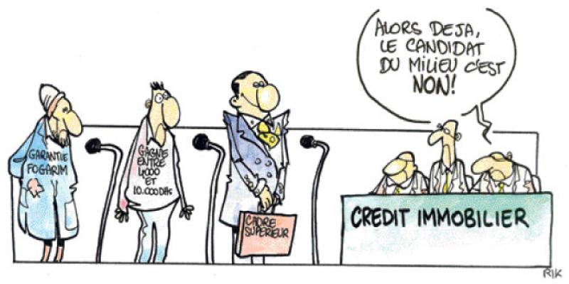 Crédit immobilier: Comment les banques gèrent le risque