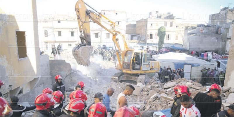Casablanca: Encore des effondrements